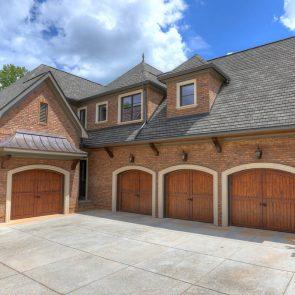 cast stone garage door surrounds and window sills