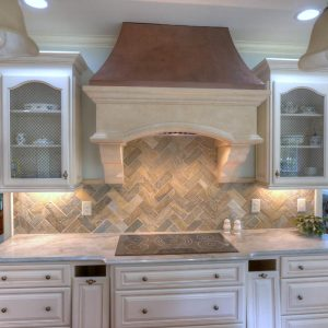 Classic Milan with Copper Hood Range Hood